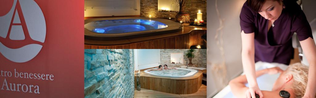 centro benessere spa relax montagna hotel aurora