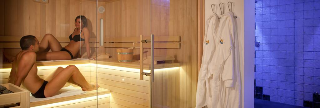 sauna idee soggiorno relax
